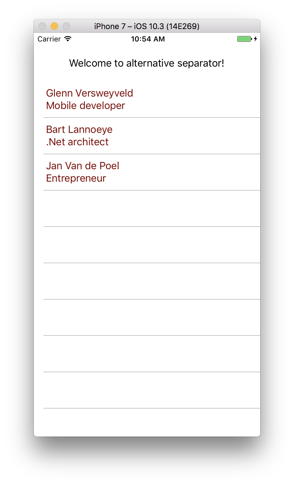 Xamarin forms – custom ListView separator without BoxView